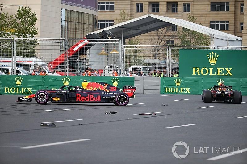 Marko blames both Verstappen, Ricciardo for Baku crash