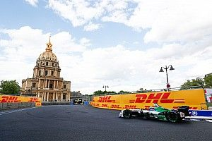 Paris ePrix: Di Grassi leads Vergne in practice