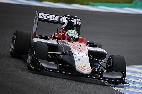 GP3 Test Jerez, Giorno 2: Pulcini domina sull'asciutto davanti a Piquet