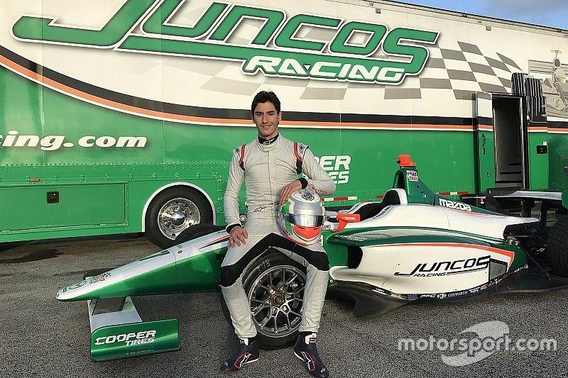 Celis correrá en Indy Lights con Juncos Racing