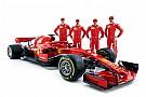 F1 Kvyat y Giovinazzi también estuvieron en la presentación del Ferrari SF71H