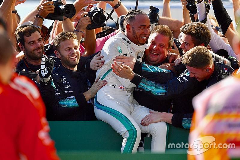 Hamilton: Ferrari, Mercedes'ten daha hızlı