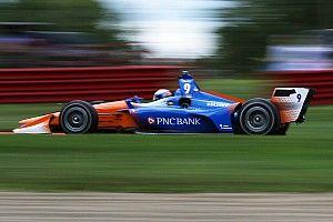 Dixon edges Penske pair, tops Portland test