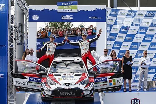 WRC Finlandia: Tanak menang, Ostberg ungguli Latvala
