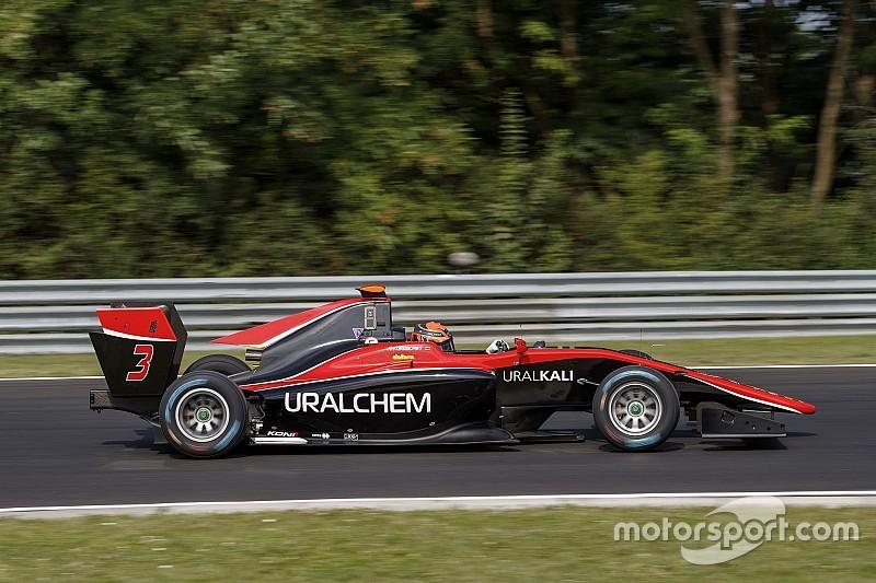 Convincente victoria de Mazepin en la GP3