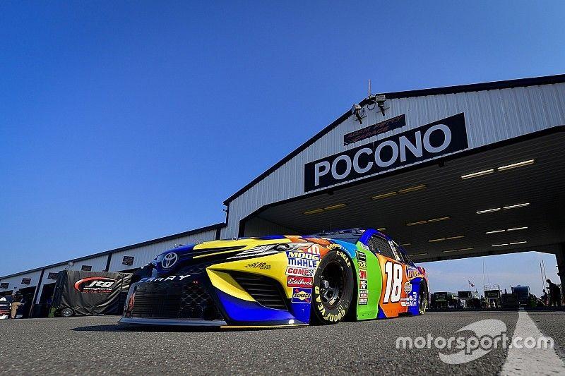 2019 Pocono/Iowa NASCAR weekend schedules