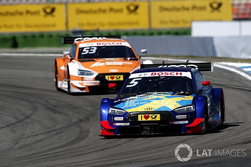 "Timing of Ekstrom's DTM departure ""strange"" - Green"
