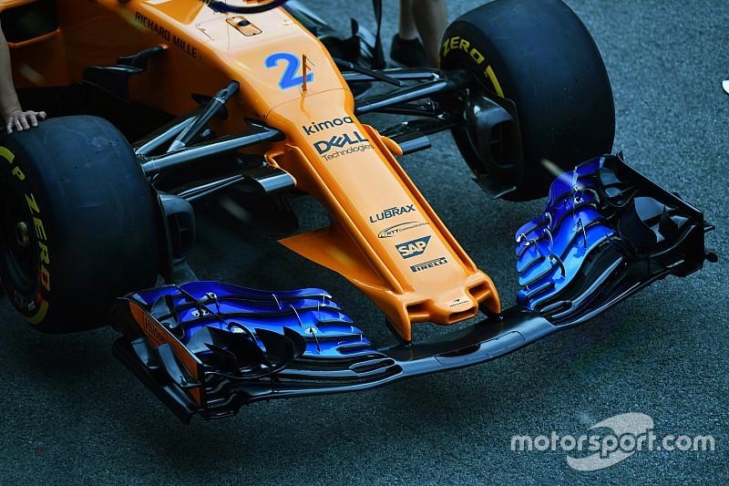 """Фото: Red Bull і McLaren """"виглядатимуть трохи інакше"""" після оновлення"""