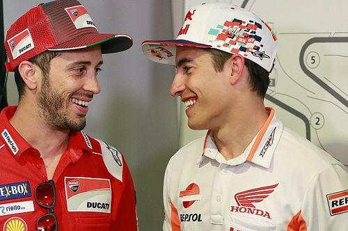 """Dovizioso: """"Tra due anni tutti proveranno a prendere Marquez, la Ducati sarebbe stupida a non farlo"""""""