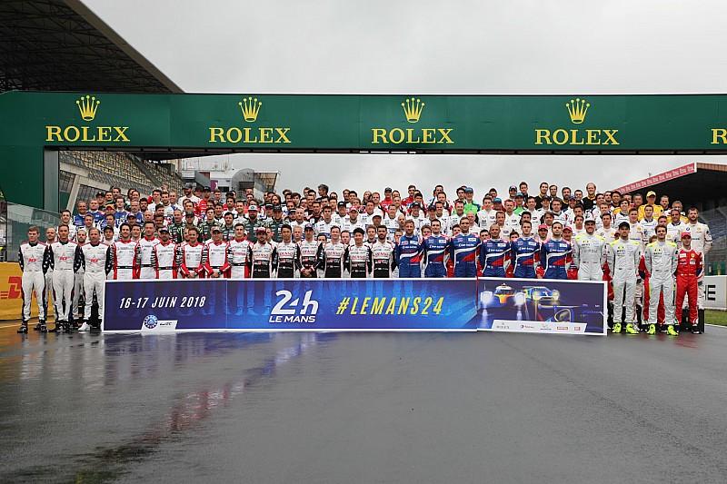 La lista de pilotos y equipos en las 24 Horas de Le Mans 2018