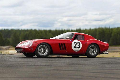 Une Ferrari 250 GTO ex-Phil Hill pour des enchères record?