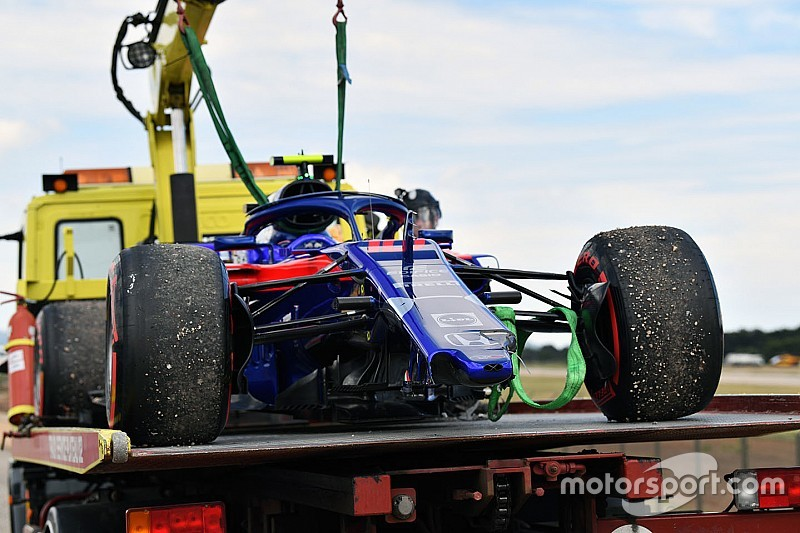 Toro Rosso spent €2m on crash damage in 2018