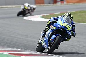 MotoGP Breaking news Iannone frustrated by Suzuki tyre drop-off