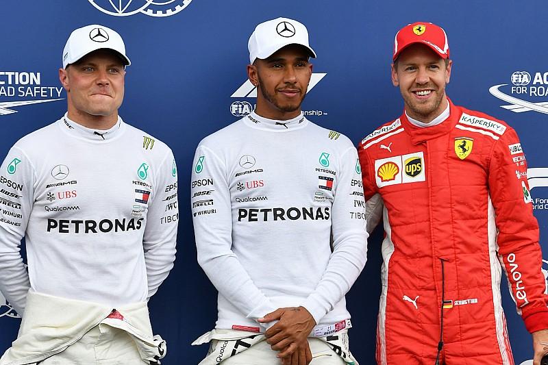 Hamilton pakt pole op Paul Ricard, Verstappen vierde