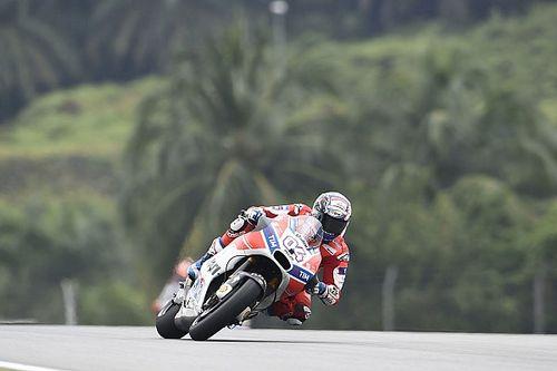 """Dovizioso: """"No fui el más rápido para meterle presión a Márquez"""""""