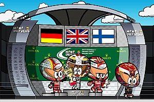 Vídeo: el GP de Estados Unidos 2017 de F1, por MiniDrivers