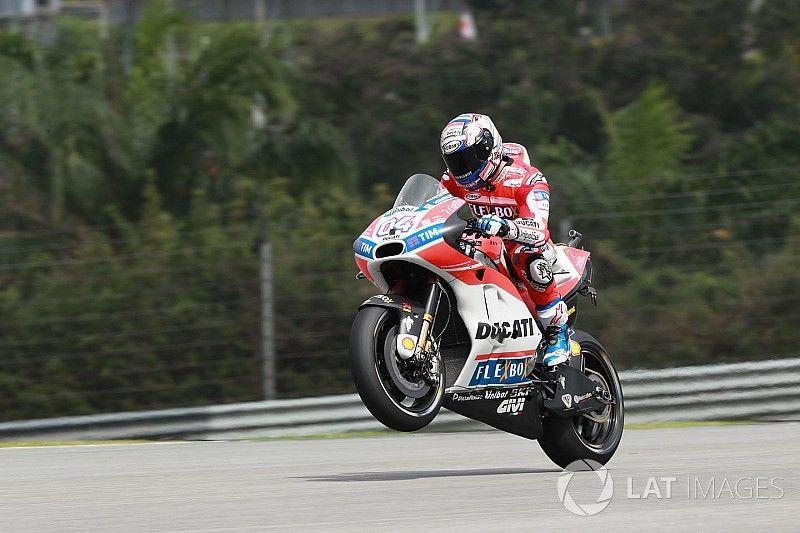 FP1 MotoGP Malaysia: Dovizioso tercepat, Marquez kelima
