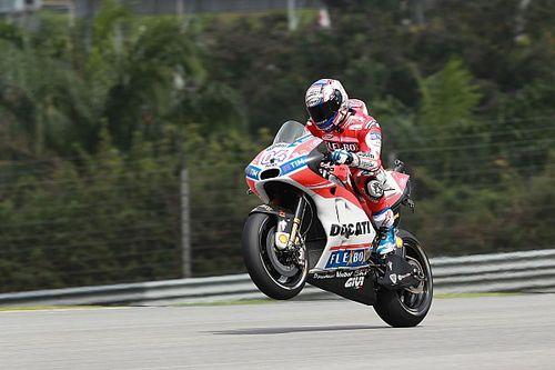 """Dovizioso domineert op """"bijna perfecte dag"""" in Maleisië"""