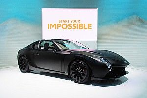 """WECトヨタのHV技術が注ぎ込まれた""""GR HV SPORTS concept""""、世界初公開"""