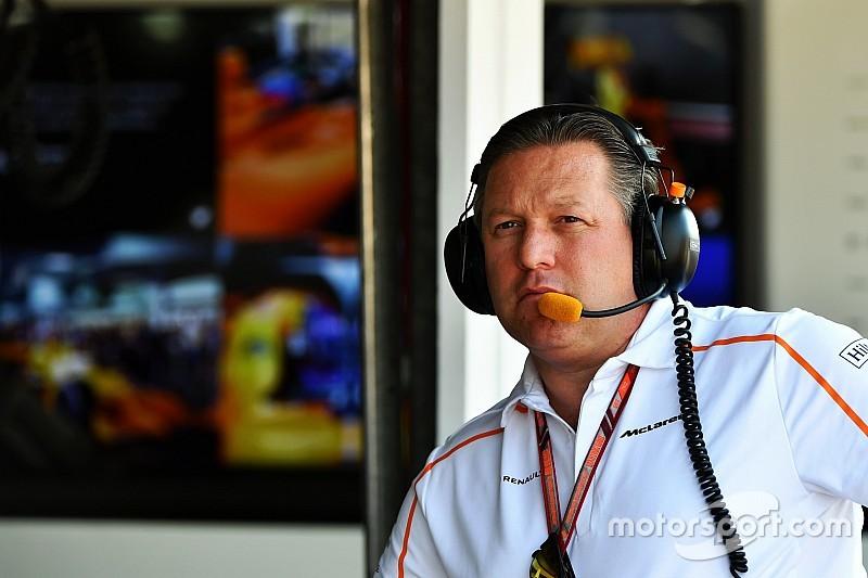 McLaren presume abundancia de patrocinios en 2018