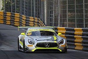 Macau GT: Mortara on pole as Mercedes dominates