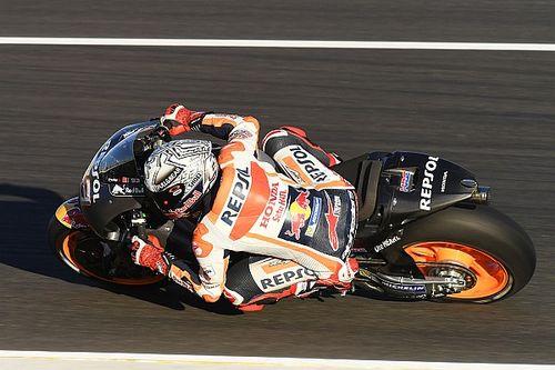 Márquez lidera la última mañana de test con la moto de 2017