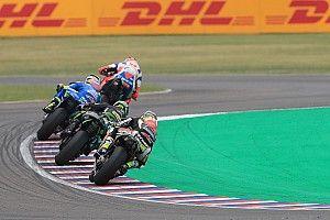 Galería: las mejores fotos del rocambolesco GP de Argentina de MotoGP