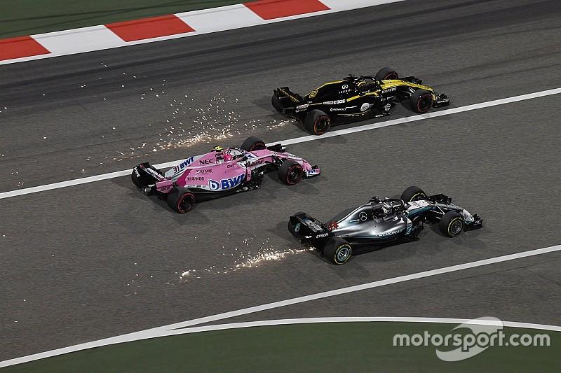 Mercedes-relatie nadelig voor kansen Ocon, erkent Renault
