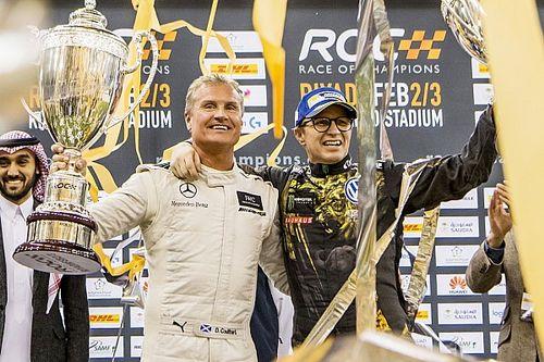 Coulthard verslaat Solberg voor zijn tweede Race of Champions-eindzege
