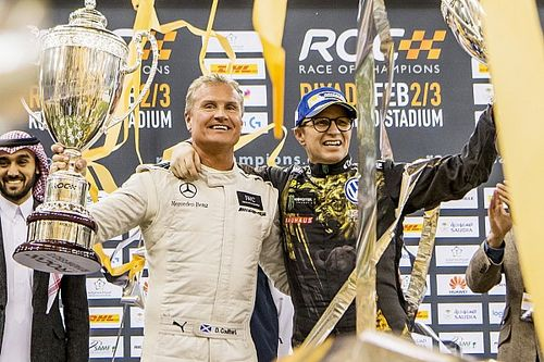 Fotogallery: David Coulthard trionfa nella Race of Champions 2018