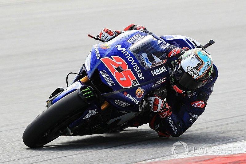 Maverick Viñales, satisfecho con la M1 de Yamaha