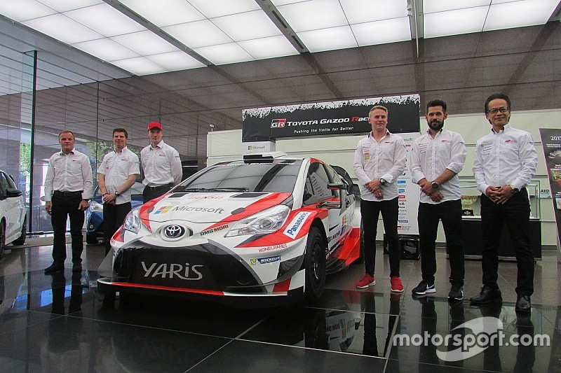 "WRCトヨタ、参戦初年度を報告。""学びの年""を実感「来季はタイトルを」"