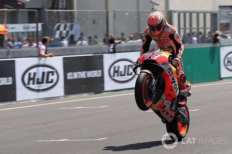 Маркес уходит в отрыв: главные события Гран При Франции