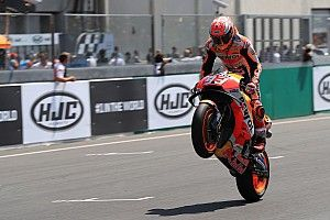 Marquez pinta Honda mulai fokus dengan sasis