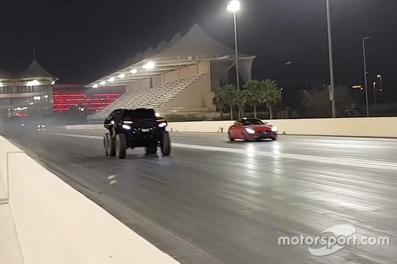 El Devel Sixty 6X6 frente al Mercedes-AMG GT S: ¿cuál acelera más?