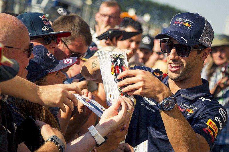 Ricciardo verwacht nog voor zomerstop nieuw contract bij Red Bull te tekenen