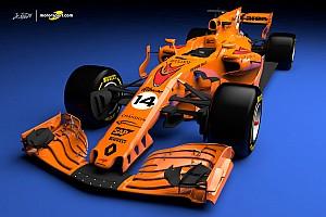 Fórmula 1 Conteúdo especial VÍDEO: Como poderá ser o novo  carro da McLaren-Renault