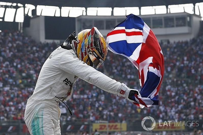 Fotogallery: i quattro titoli mondiali di Lewis Hamilton