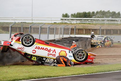 No stewards inquiry into Reynolds/Coulthard clash