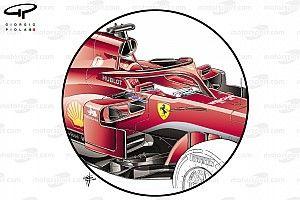 A GT-részlegről vette át a Ferrari a trükkös tükrét: F1-es technikai elemzés