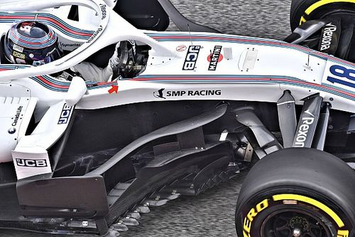 Formel-1-Technik: Die Updates in Barcelona, 1. Tag