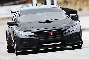BTCC Breaking news New Honda BTCC car breaks cover in testing