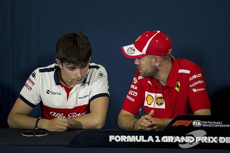 Vettel: Leclerc et moi devrons travailler ensemble en 2019