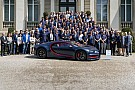 Automotive Bugatti builds 100th Chiron for client from the Middle East