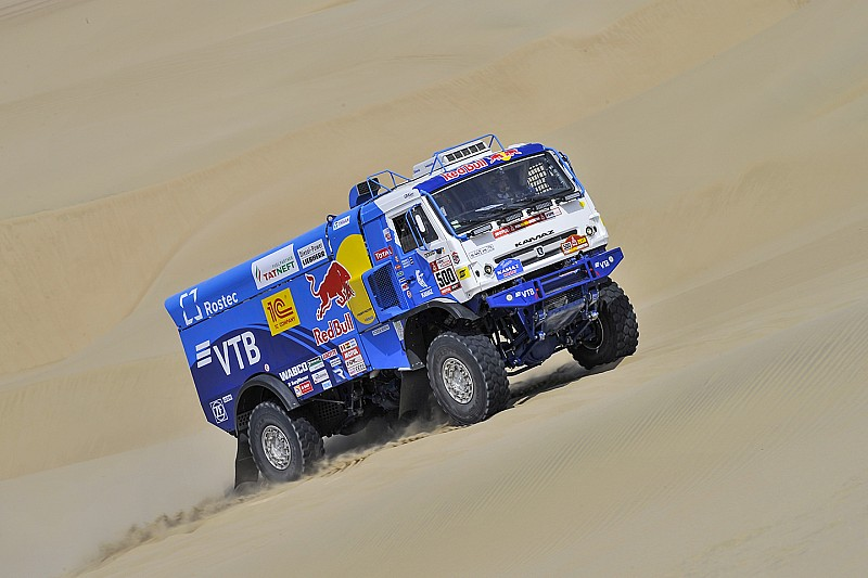 Dakar 2018: Enorme verschillen bij trucks, opnieuw zege voor Nikolaev