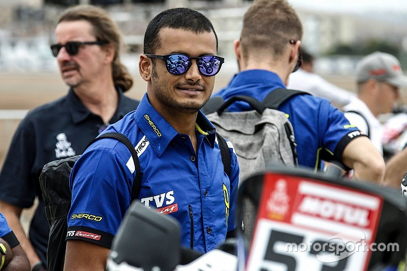 Sherco TVS confirms Aravind for Dakar after injury recovery