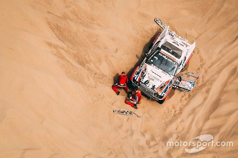 """""""Dakar 2018 te zwaar voor amateurs"""", vindt Sainz"""