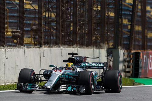 Brazilian GP: Hamilton leads Bottas by 0.048s in FP2