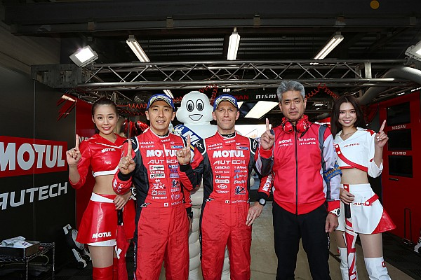 Super GT Motegi Super GT: Nissan takes crucial pole in finale
