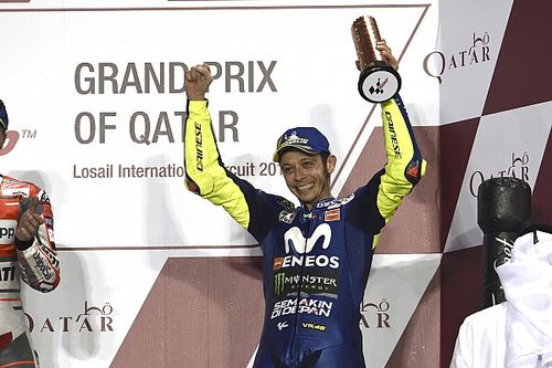 Rossi: Qatar podium shows I'm not too old to keep racing